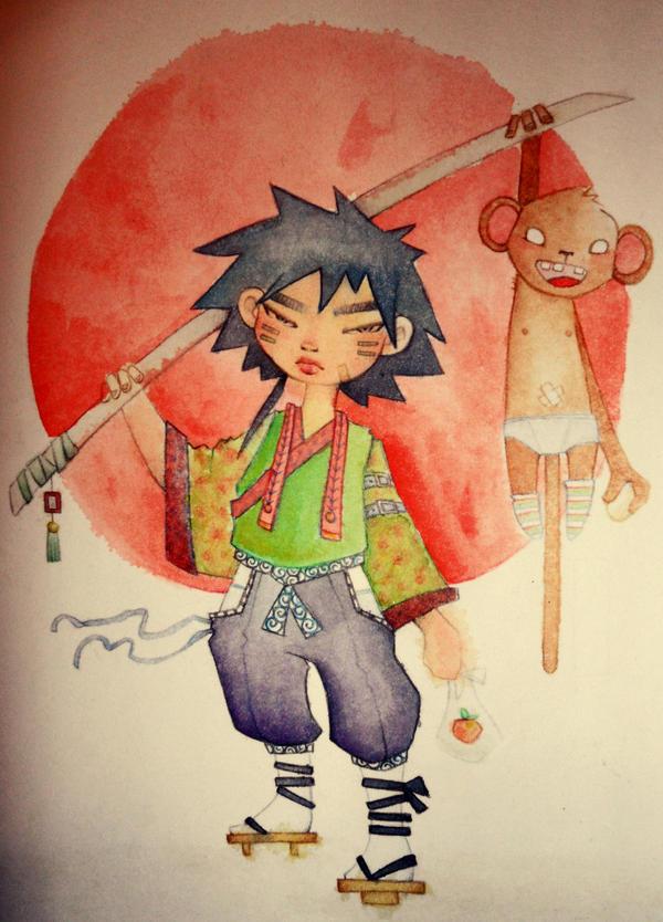 Momotaro by PinkuMimi
