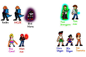 updated sprites i'm working... by MGZE
