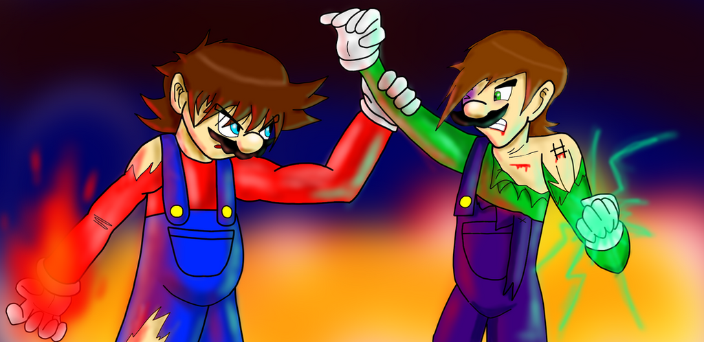 Gift: Bros Fight! by MGZE