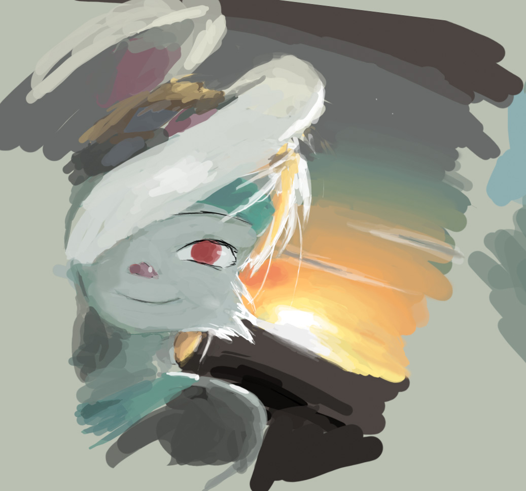 bunny sketch by Zareste