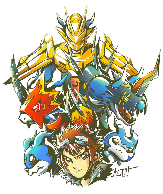 Digimon series02 by ARRT90 on DeviantArt