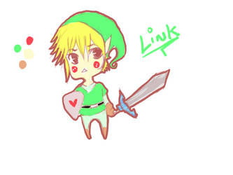 Link Colored by sukizan