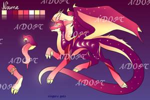 dragon adoptable by singuragato