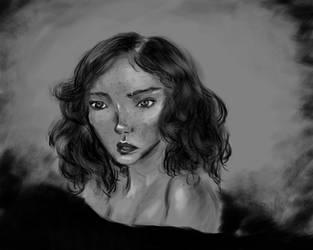 Portrait by blabladog