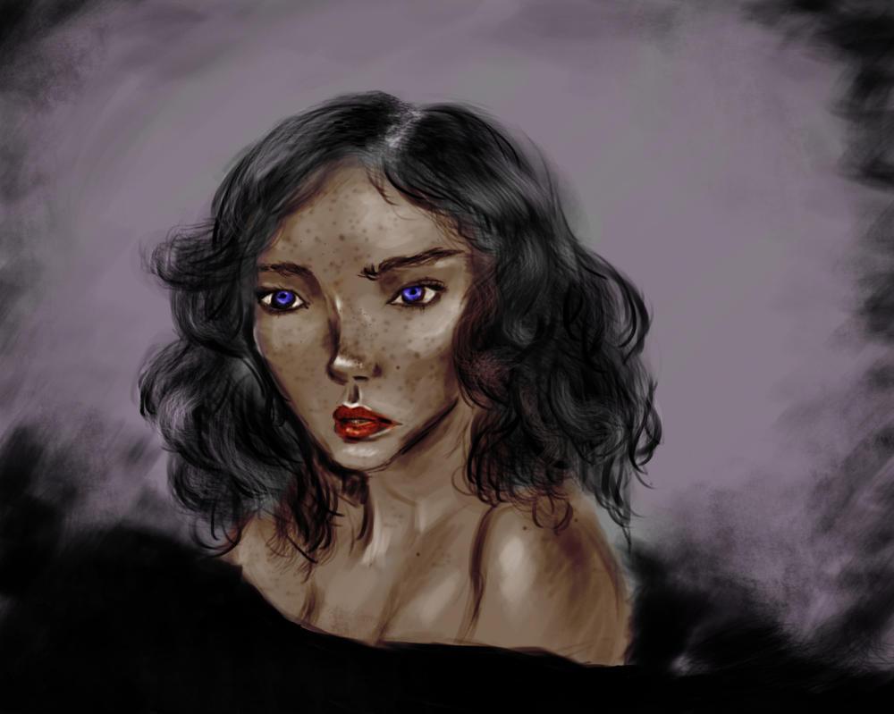 Portrait Colored version by blabladog