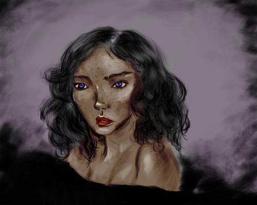 Portrait Colored version