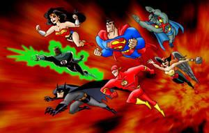 justice league - colorisation2