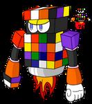 Mega Man fan character (Rubik Man) 2/8