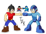 (Commission)Epic Brofist in Keiji Inafune Style