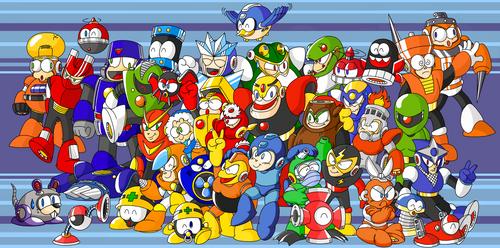 Happy 30 Anniversary Mega Man