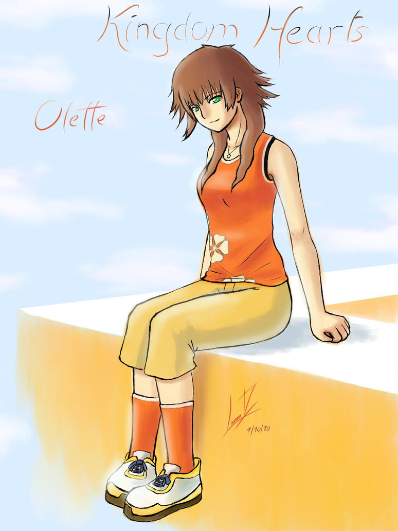 Kingdom Hearts Olette Kingdom Hearts 2 - Olette by