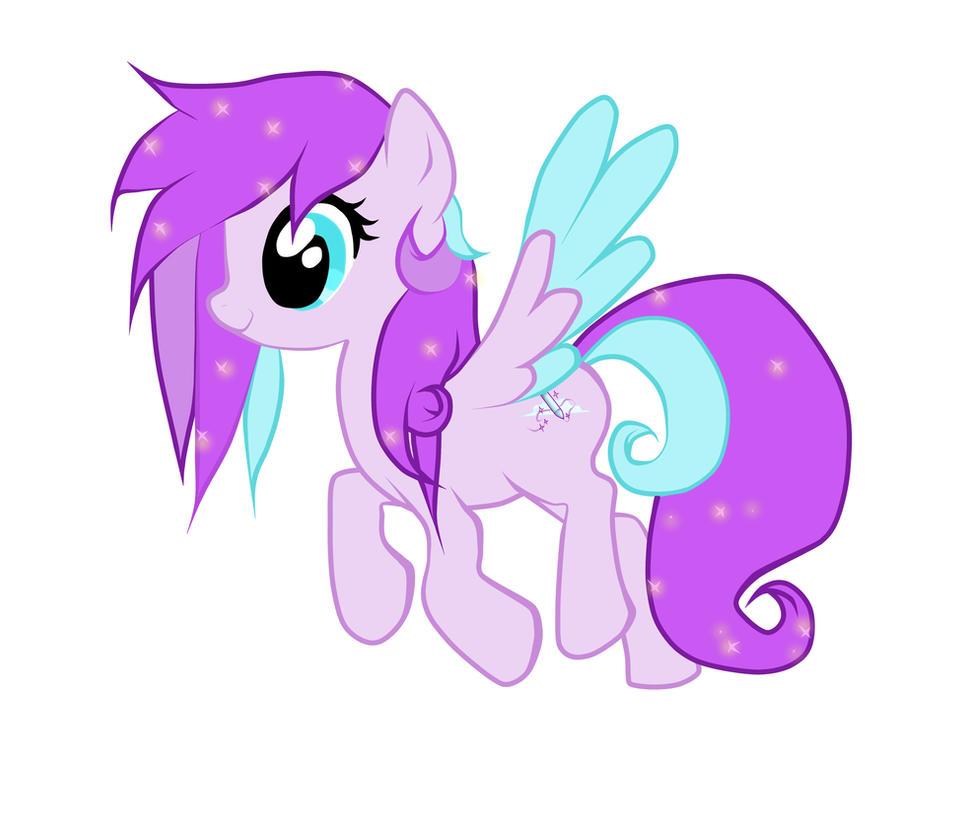 Violet shimmer my My Little pony OC by thepurple kitten on DeviantArt