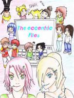The Eccentric Files- Fanart by Rosendormie