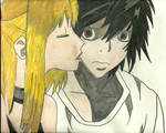 L and Misa colored