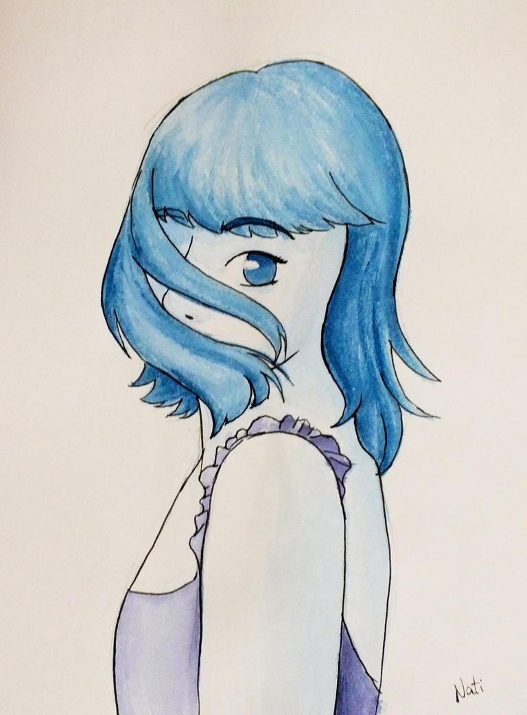 My first watercolor by natdrabik on deviantart for My first watercolor painting