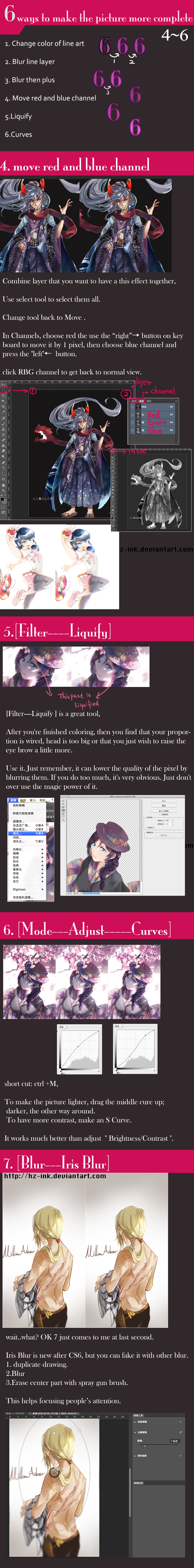 6 ways to make the picture more complete(2/2) by HZ-ink