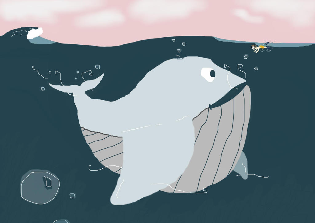 Whale. by Flor-a