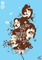 60's Beatles by 82percentevil