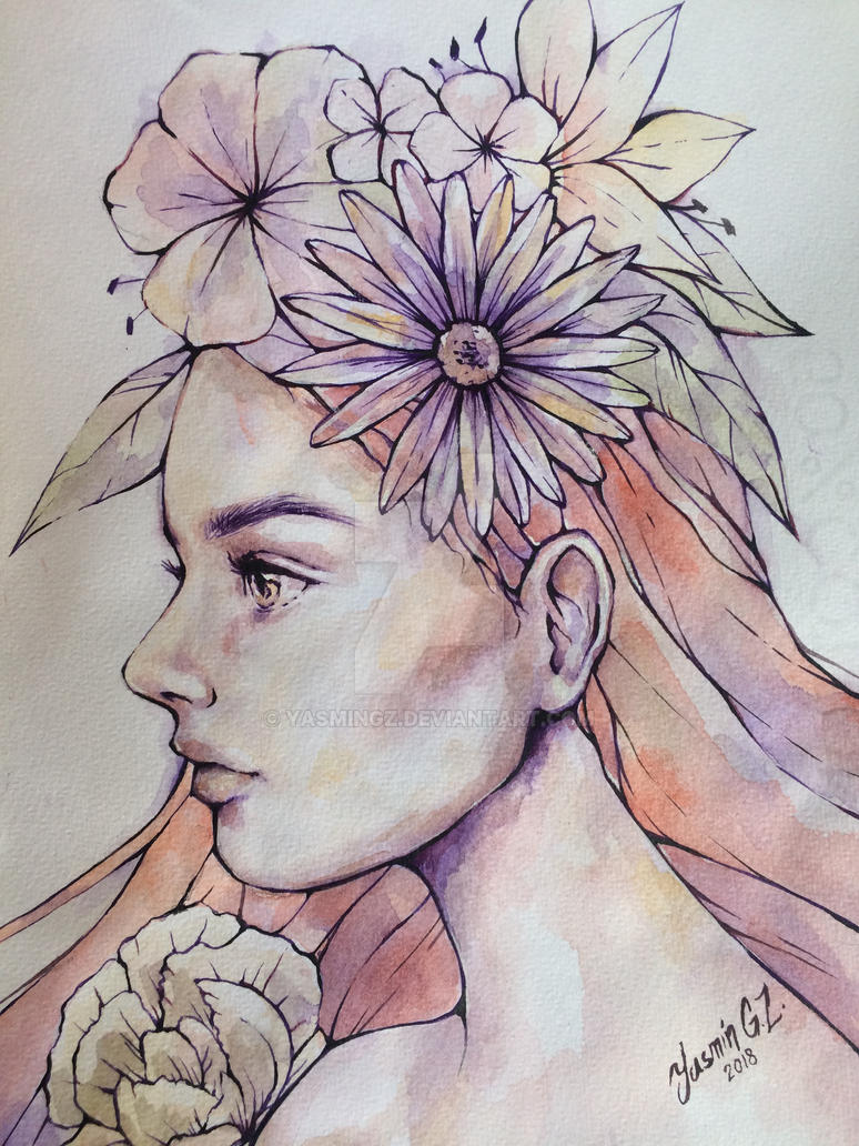 Flower girl by YasminGZ