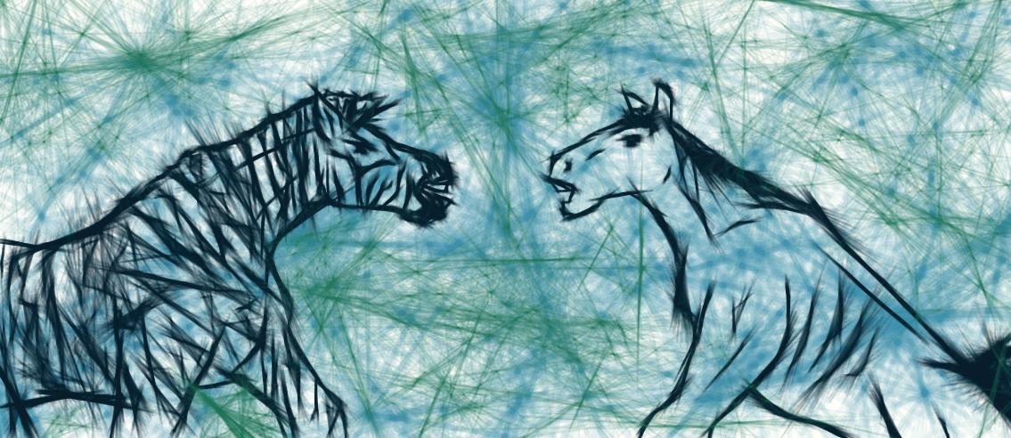 Horse vs Zebra by Imperius-Rex