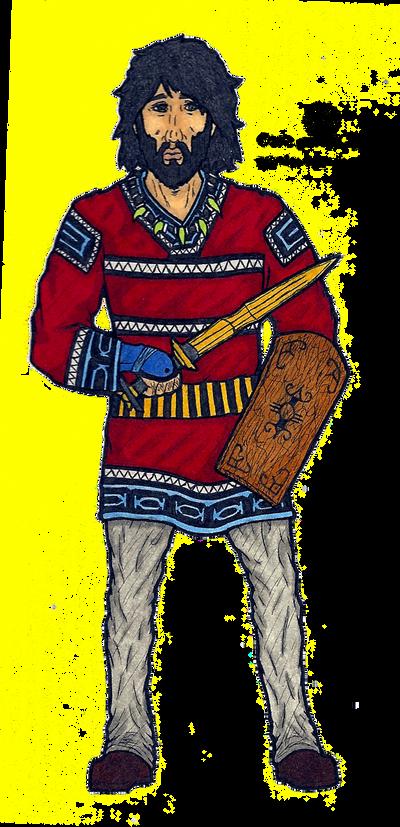 Jomon Warrior by Imperius-Rex