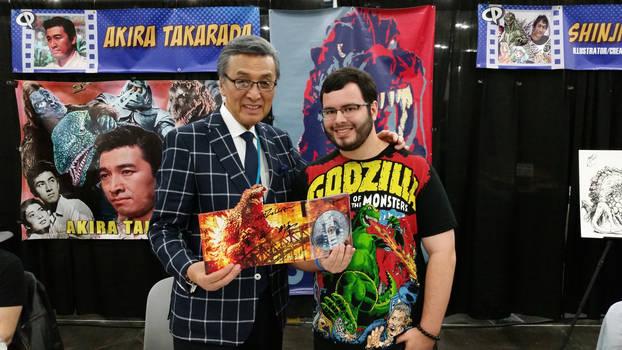 Akira Takarada and I