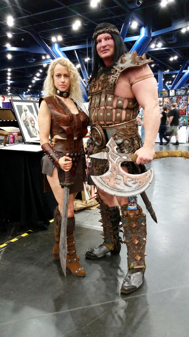 A nice photo Of Sandahl bergman in  pit fighter outfit Comicpalooza_2015___conan_the_barbarian_cosplay_by_imperius_rex-d8usmu4