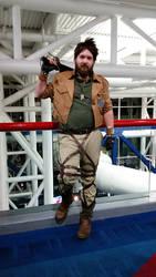 Comicpalooza 2015 - Eren Yeager cosplay