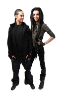 Bill and Tom Kaulitz - PNG by Love-Me-Like-Crazy