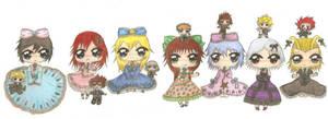 Happy birthday Kida-nii!, KH Lolita Girls