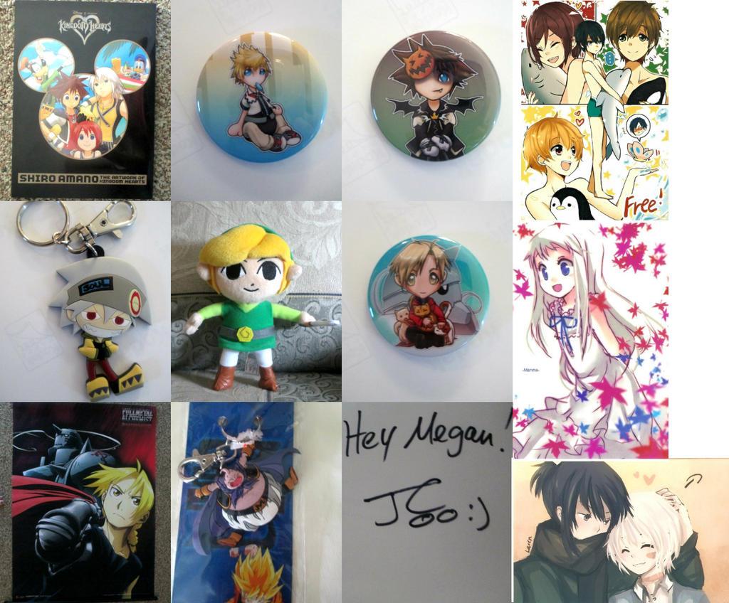 Nekocon 2013 Anime collection by kiyoshi-seishin