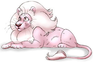 Silleh Lion by QueenChinchilla187