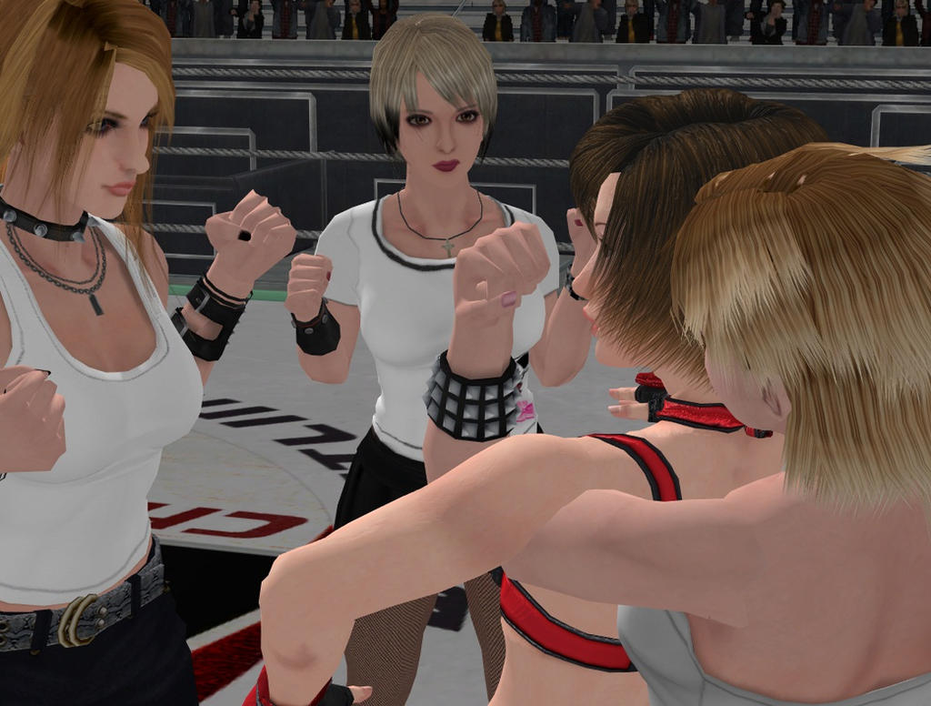Female celebrity fist fights