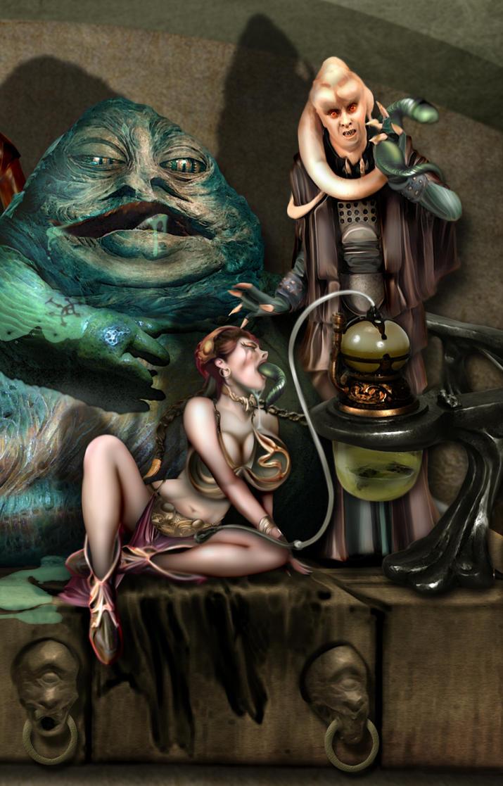 Star Wars Laea und Jabba Sex
