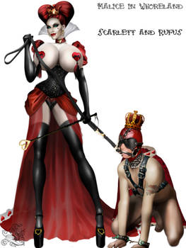 The Red Queen and The Red King of Hearts