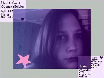 Oo It's me ... Azure by blue-Azure