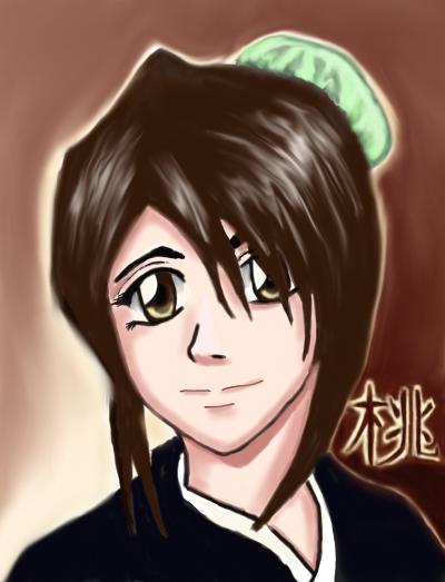 Hinamori with kanji by Dwellin