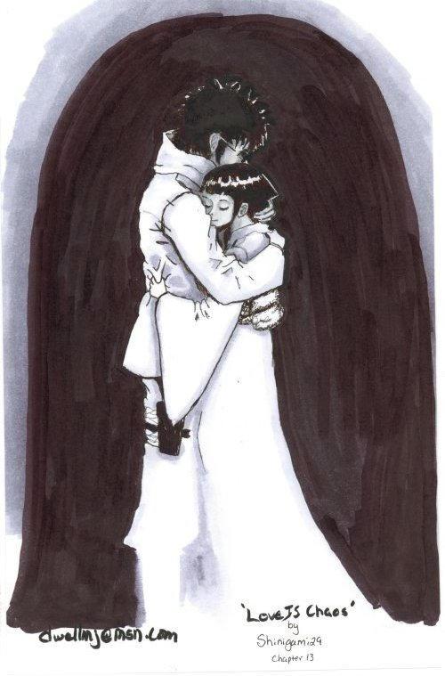Shino and Hinata by Dwellin