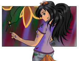 Renia Goes Rawr by sapphirekiss86