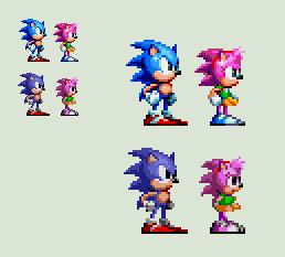 Sonic Mania - Classic Amy by rcrdcat