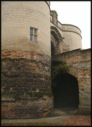 Castle gates by Plug1nbaby