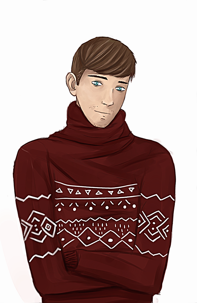 Christmas Sweater by Kotorikun