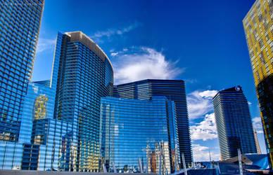 Las Vegas City Center HDR by eanimusic
