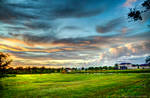 Vibrant Sunset HDR
