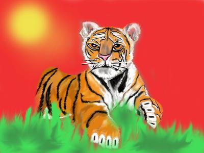 Tiger by MagicAngel0