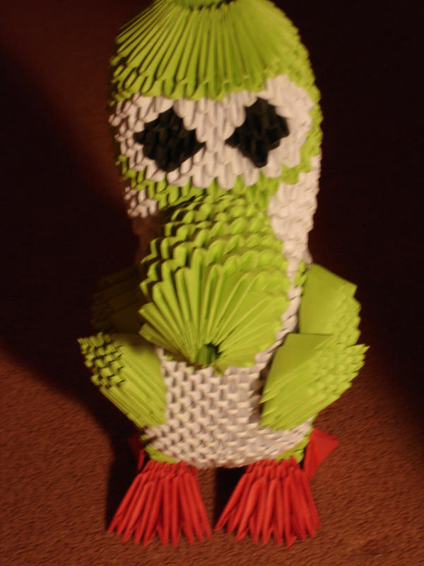 Yoshi 3-D Origami Front