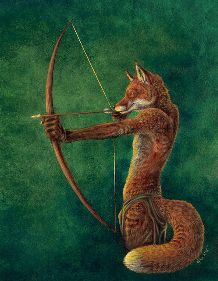 Raskyn hunting by AlphaKi