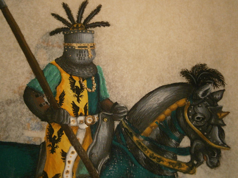 12 Knights of Atlantia - Detail, Sir Corby by Merwenna