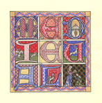 Medieval Quilt-Style Miniature
