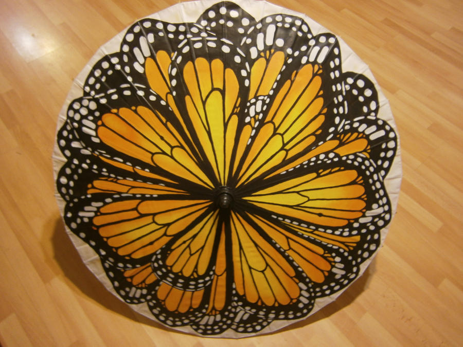 Butterfly Parasol by Merwenna